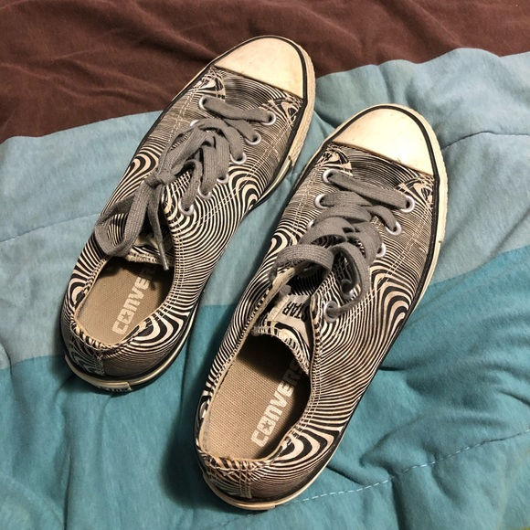 Converse Shoes - Swirled converse